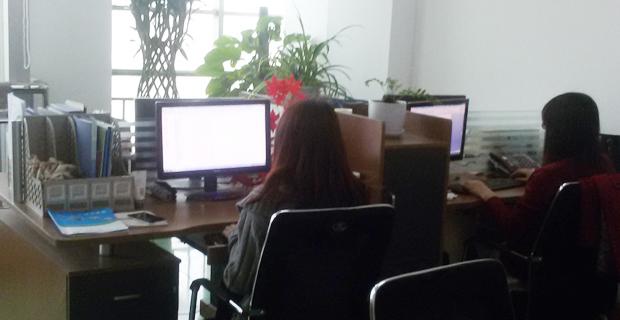 照片描述:办公室环境