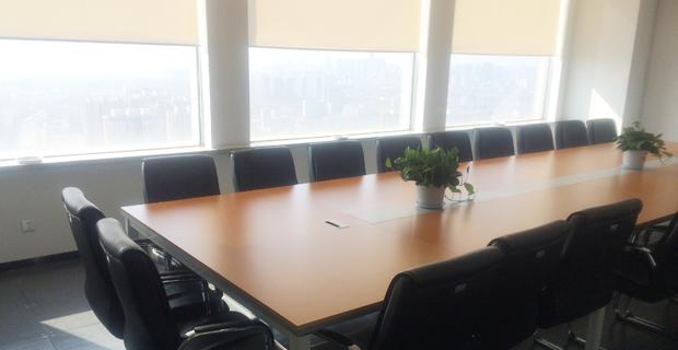 方正宽带网络服务有限公司沈阳分公司工作环境主会议室一角