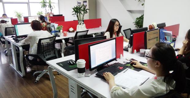 济南国迅信息科技有限公司工作环境办公区C