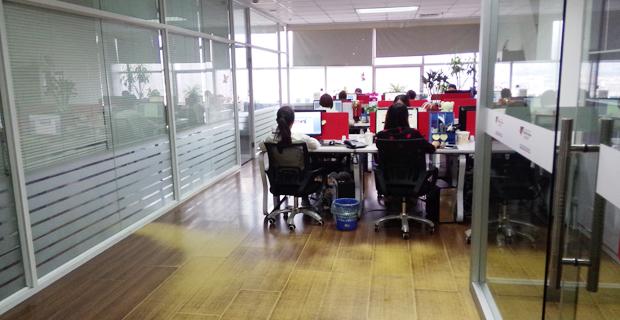 济南国迅信息科技有限公司工作环境办公区A