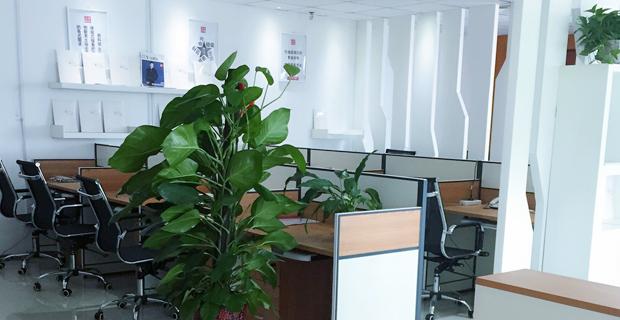 兆讯传媒广告股份有限公司工作环境办公室
