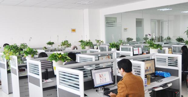 山东诺宜服饰有限公司工作环境设计区