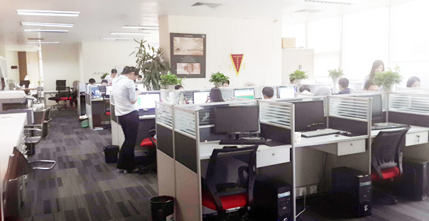 广州北标知识产权代理有限公司工作环境办公区
