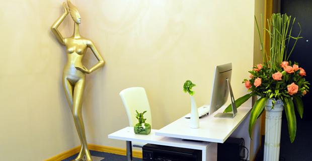 北京时尚大帝服装设计有限公司工作环境办公室