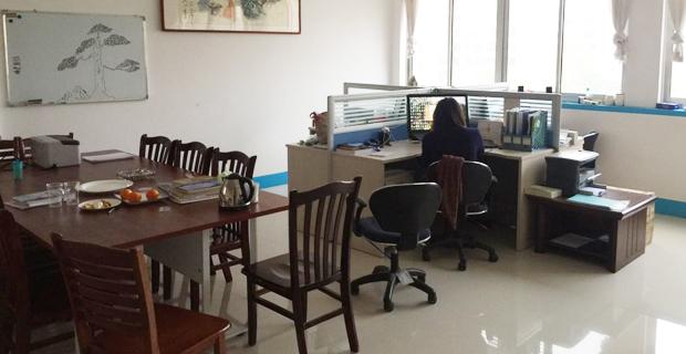 山东华睿水利环境工程设计有限公司工作环境设计室