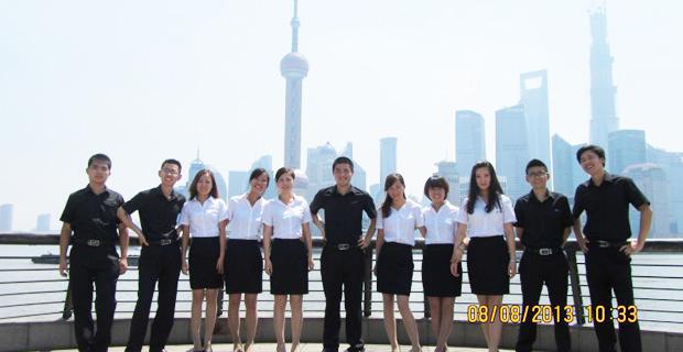 上海万旗房地产营销策划有限公司工作环境浦东团队风采展示