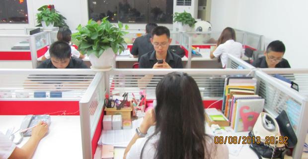 上海万旗房地产营销策划有限公司工作环境努力工作的同事