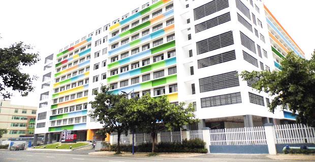筋斗云酒店生命周期服务平台工作环境楼宇外观