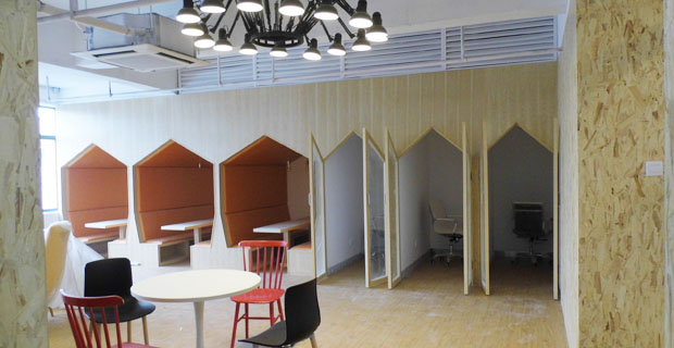 筋斗云酒店生命周期服务平台工作环境休息区