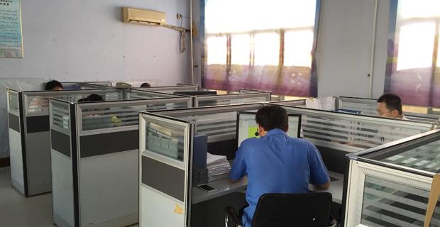莱芜市科创机电设备有限公司工作环境办公室一角