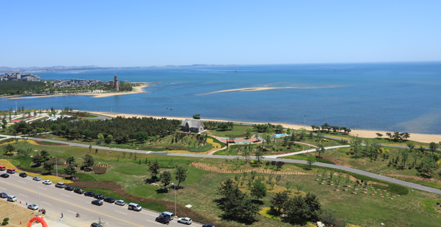 盛泉集团有限公司工作环境盛泉科技金融园海边景观