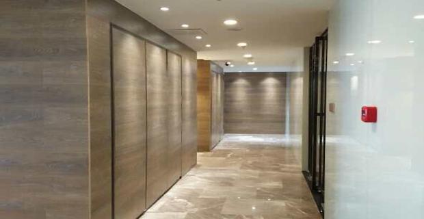 长沙蓝海国际设计有限公司工作环境公司走廊