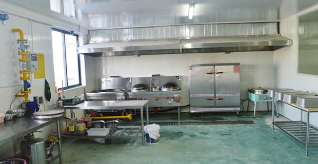 烟台宝备生物技术有限公司工作环境食堂