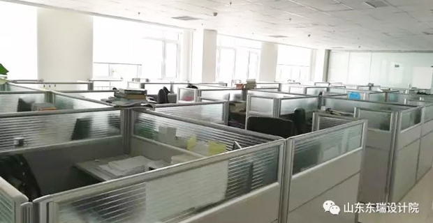 山东东瑞规划建筑设计院有限公司工作环境绘图室