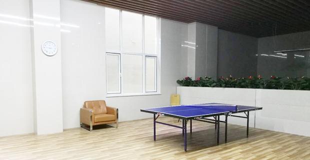 烟台毅德国际商贸城有限公司工作环境公司乒乓球馆
