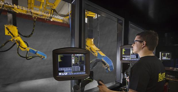 山东开泰集团有限公司工作环境高端喷砂机器人制造