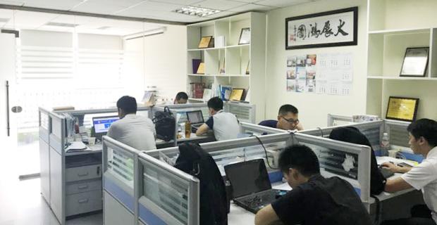 山东永创信息技术有限公司工作环境办公区域
