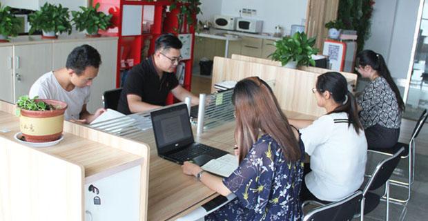 山东遇合文化产业发展有限公司工作环境办公室环境