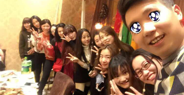 北京振轩网络信息技术有限公司工作环境团队聚餐