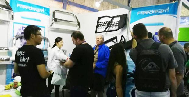 山东省博兴县开元车辆配件有限公司工作环境南非展会