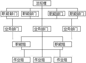 矩阵式组织结构图片