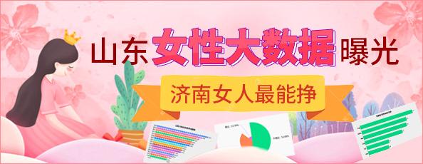 山东女性大数据曝光,济南女人最能挣!