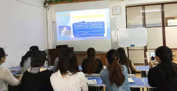 大连开发区盛通会计培训学校工作环境上课