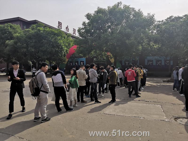5月8日,山东华宇工学院春季毕业生双选会隆重开幕