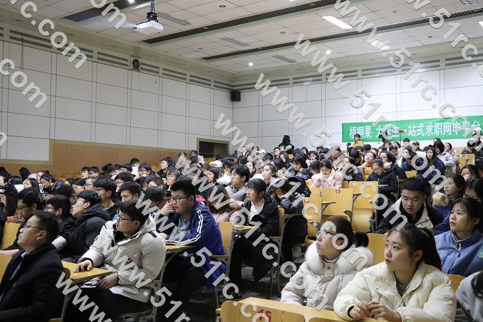 《人力資源視角下的簡歷與面試》—齊魯人才研究院呂主任走進聊城大學東昌學院