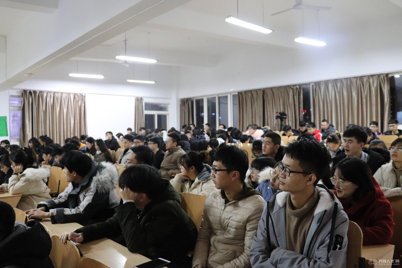 齊魯人才研究院呂主任攜手齊魯人才網財務總監王東玲女士走進黃海學院,開啟大數據引導下的就業之行。