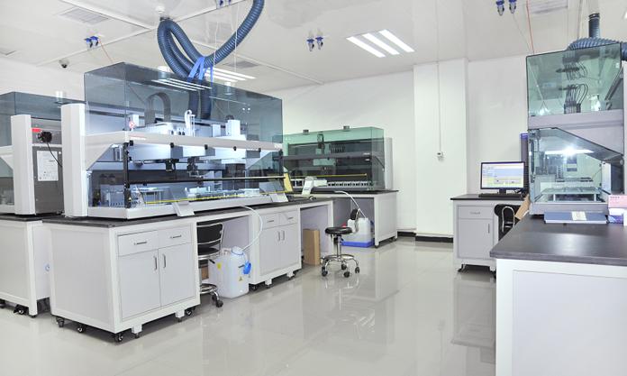 康龙化成(北京)新药技术股份有限公司工作环境生物实验室