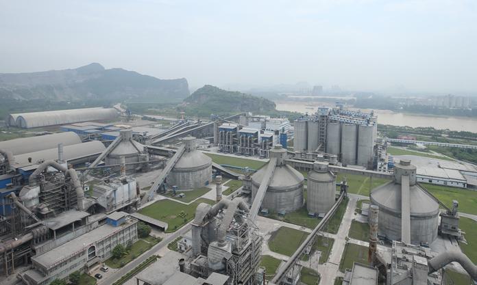台泥(英德)水泥有限公司工作环境厂区环境