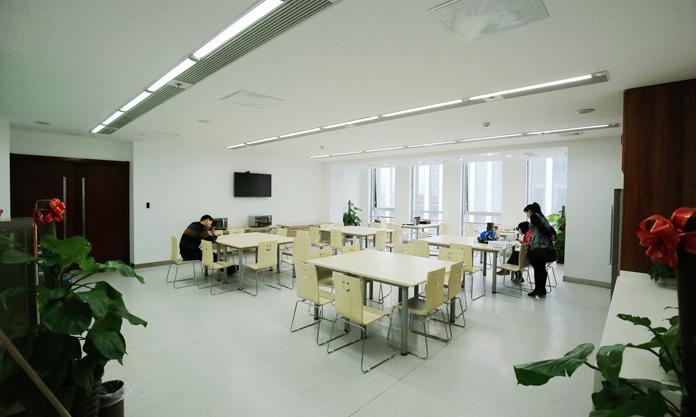 山东诚信工程建设监理有限公司工作环境员工餐厅