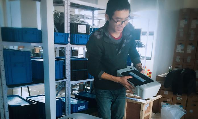 北京悦琦创通科技有限公司工作环境实习生活