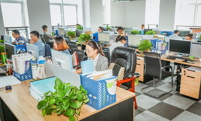 山东东海房地产开发集团有限公司工作环境办公环境